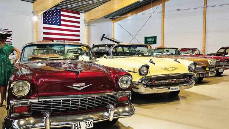 Sweden's largest car museum